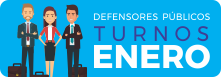 Defensores de Turno Enero 2021